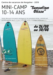 "Mini-Camp ""sensation Glisse"""